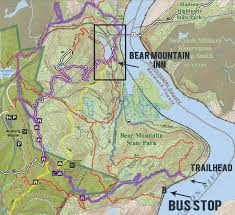 map of the west mountain loop along the timp torne trail in