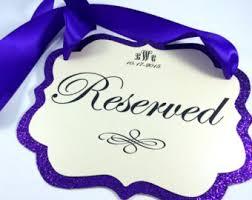 Purple Wedding Decorations Purple Wedding Etsy
