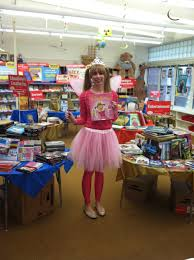 my pinkalicious book fair costume library stuff pinterest