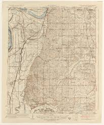 State Of Arkansas Map Tennesse Historical Topographic Maps Perry Castañeda Map