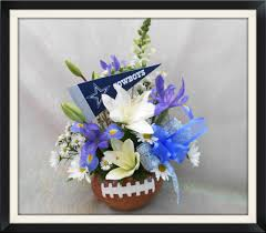 flowers dallas dallas cowboys football bouquet in tx the flower box