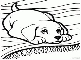 cute puppy coloring free download