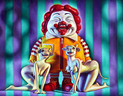 Colganology The Halloween Nightmare Art Challenge The Results Colganology A Look Around Ron English U0027s Studio