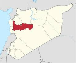Syria Map by Hama Governorate Wikipedia