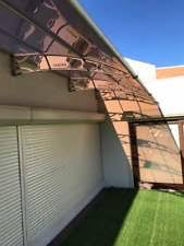 Cantilever Awnings Polycarbonate Canopy Ebay
