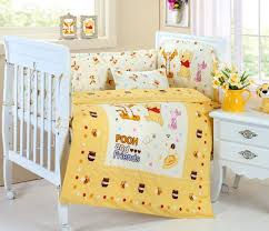 yellow nursery bedding plus theme winnie the pooh crib bedding for