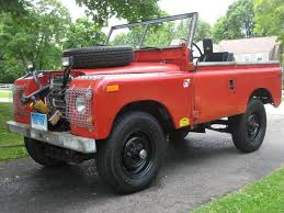 red land rover defender red rover 1974 land rover nada series iii defender source