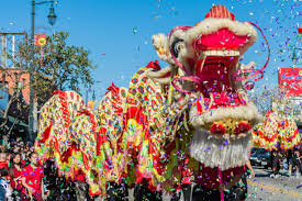 lovely chinese dragon dance chinese southern lionedit