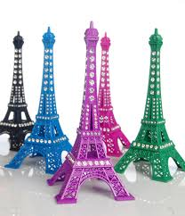13cm eiffel tower ornament colorful eiffel tower with