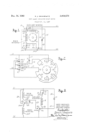 capacitor start run induction motor wiring diagram for single