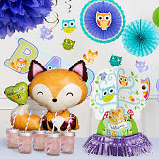 woodland baby shower decorations woodland baby shower ideas party city