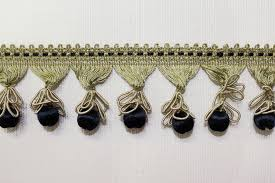 ornamental fringe navy 2 inch bf 132 05 the fabric mill