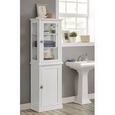 Slim Bathroom Furniture Slim Bathroom Cabinet Wayfair