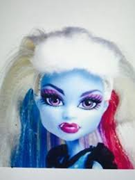 monster high abby beautiful face and pouty lips freaky just got fabulous and gorgeous