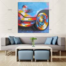 Paintings For Living Room Online Get Cheap Abstract Car Painting Aliexpress Com Alibaba Group