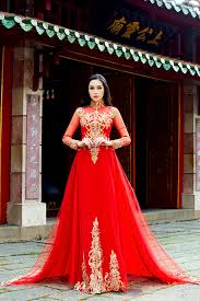 ao dai cuoi dep áo dài cưới may áo cưới royal