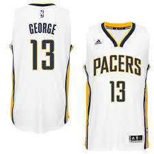 indiana pacers 13 paul george 2014 15 home white new swingman