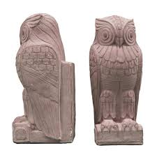new york library bookends hefty pair of deco owl bookends at 1stdibs