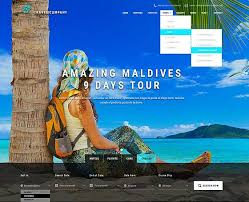 travel themes travel agencies website templates gridgum