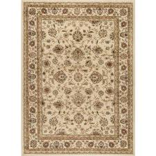 Home Depot Area Rugs Tayse Rugs Elegance Ivory 7 Ft 6 In X 9 Ft 10 In Traditional