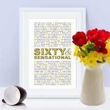 gifts for someone turning 60 best 25 turning 60 ideas on