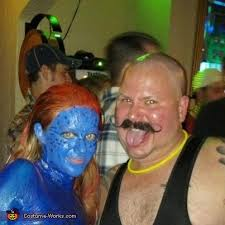 Mystique Halloween Costume Mystique Men Halloween Costume Photo 3 3