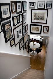 Home Decoration Pictures Gallery Hallway Gallery Wall Clueless Gallery Wall And Basement Stair