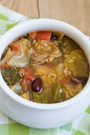 cabbage beef soup craving some creativity