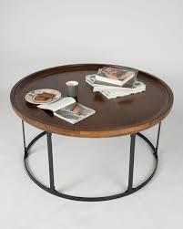 dark wood triangular coffee table retro design 100 solid wood