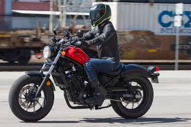2017 honda rebel 500 and 300 first ride review 13 fast facts