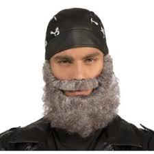 Biker Halloween Costume California Costumes Fake Hair Curly Mustache