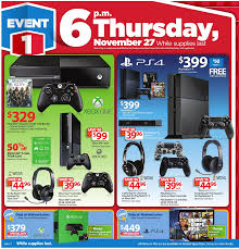 walmart ad thanksgiving day dailytech wal mart miss thanksgiving get xbox one master