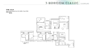 high park residences floor plan 3 bedroom classic condo singapore