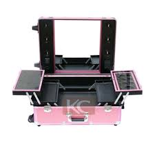professional makeup trunk professional makeup trolley luggage with 12 light bulbs buy