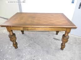 Antike Esszimmer In Eiche Eiche Tisch Ausziehbar Antik Dunkelbraun Carprola For