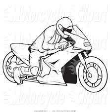 royalty free stock motorcycle designs of coloring pages