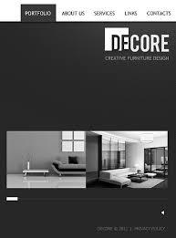 Facebook Profile Decoration Website Template 37314 Decore Furniture Profile Custom Website