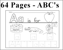 kearn to write alphabet abc unit 64 pages learn to write each