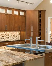 inviting kitchen with warm tones plain u0026 fancy cabinetry