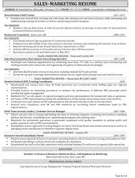 Sample Resume Objectives For Marketing Job by Jobs Outside Sales Representative Sample Resume Page Resume