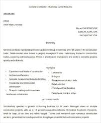 Accomplishment Resume Examples by 24 Business Resume Templates Free U0026 Premium Templates