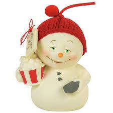 binge snowman snowpinions ornament specialty ornaments