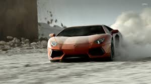 Lamborghini Aventador Drift - wallpaper u0027s collection lamborghini aventador wallpapers