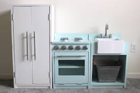 Diy Play Kitchen From Entertainment Center Ana White Play Kitchen Diy Projects