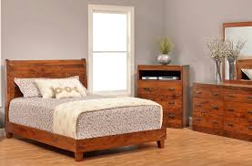 galway rustic cherry bedroom set countryside amish furniture