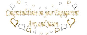 congratulations engagement banner engagement and hen banners