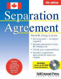 separation agreement forms ontario canada best resumes curiculum
