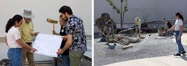 patient creates rock garden design harn museum of art