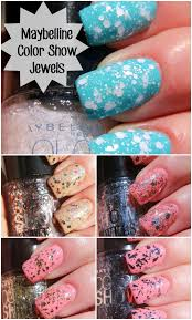 maybelline color show veils and jewels nail polish swatches www