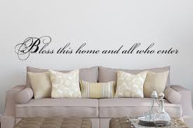 god bless our home wall decor christian wall decals